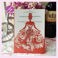 design my own wedding dress aliexpress buy 12pcs lot wedding invitations cards luxury