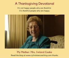 a thanksgiving devotional r j scherba christian coaching