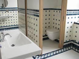 Salle De Bain Bleu Et Blanc by Indogate Com Salle De Bain Decoration Marocaine