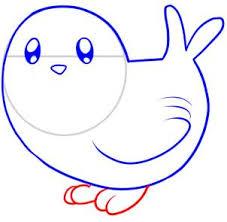 draw draw bird kids hellokids