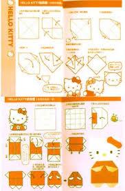 cara membuat origami hello kitty 3d free printable hello kitty step by step origami tutorial for paper