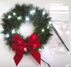 lighted christmas wreath where 2jeep 12 volt led lighted christmas wreath