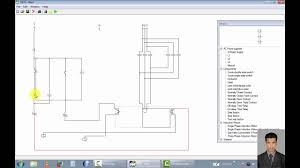 three phase motor control automatic gate on off system youtube