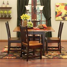 Colorful Dining Chairs by Saber Solid Maple Drop Leaf Table Morris Home Kitchen Table