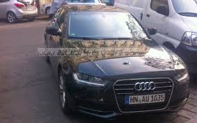 audi a4 modified intel b9 chassis audi a4 mule spotted via audi4ever fourtitude com