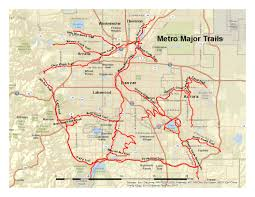 Map Running Routes by Great Road Rides Denver Coloradobikemaps