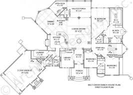dream home plans luxury belt creek ranch house plan dream homes pinterest house