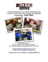 diy network u0027s u201cgarage gold u201d casting call for garage makeovers in
