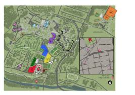 Washington Park Map by The Official Site Of Rutgers Athletics