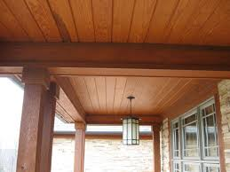 Outdoor Wood Ceiling Planks by Wood Porch Ceiling