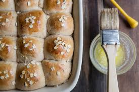 honey whole grain dinner roll recipe for thanksgiving vintage mixer