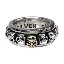 mens skull wedding rings sterling silver biker men s rings bikerringshop