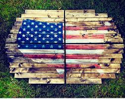 Planked Usa Wall Art Panels by Usa Map Wall Art Etsy
