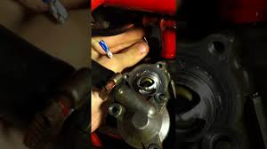 trx450r temp sensor and thermostat removal and install youtube