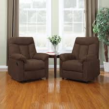 furniture elegant beige armchair wall hugger recliners for