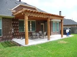 Concrete Patio Houston Custom Shade Arbor Builder In Houston Designing Beautiful Patio