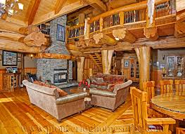 cabin style homes log cabin style living room loft designs bc canada