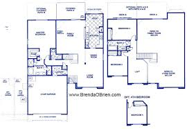 3 bedroom 2 story house plans black ranch floor plan us home gold leaf ii model