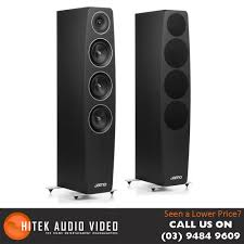 home theater tower speakers jamo c97 tower speakers on display and available at hitek audio