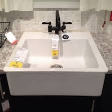 laundry room butcher block and sink from ikea dressing up the