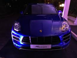 purple porsche 911 2016 porsche 911 range to launch in india on june 29 edit now