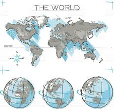 World Map Equator by Equator Line Clip Art Vector Images U0026 Illustrations Istock