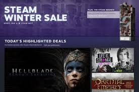Winter Deals On S The 2017 Steam Winter Sale Is Live With Deals On Thousands Of Pc