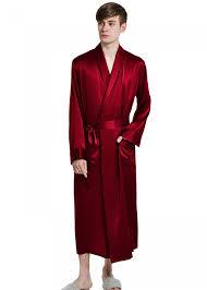 robe de chambre homme satin une robe de chambre pour les hommes oosilk