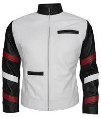 amazon black friday clothing bruce lee vintage white leather jacket for men u0027s at amazon men u0027s