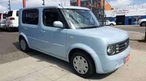 nissan cube interior accessories nissan cube 2004 bgz11 7 seater blue sun origin motors