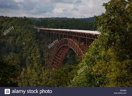West Virginia landscapes images New river gorge bridge in west virginia usa early fall landscape jpg