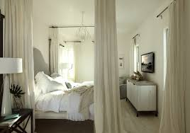 ceiling mounted curtain rods transitional bedroom alys beach