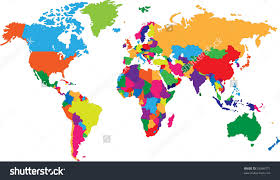 World Map Countries Color Of The World Countries Printable Maps Wiring Free