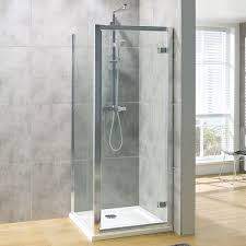 g8 hinged shower enclosure 900 x 700