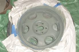 paint your rims cheap 5 steps