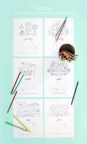 free printable coloring calendar pages damask love