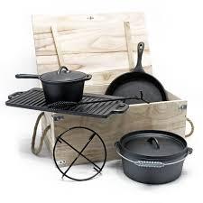 oven set fonte 7 pcs cing outdoor ustensiles de cuisine