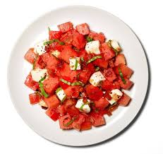 watermelon salad with pancetta recipe nyt cooking