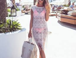 sle of resume pinterest everything fashion hollow out crochet cover up gracefully complements any one