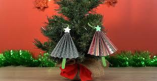 make paper tree ornaments