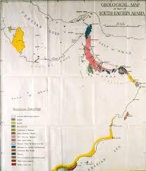 Map Of Oman G M Lees Abu U0027l Jabal A Pioneering Geologist In Oman Pdf