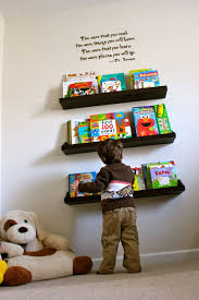 kids bookshelf love the quote above the bookshelf good for