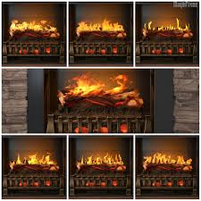 ares stacked stone holographic electric fireplace w touchscreen