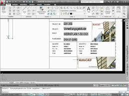 autocad architektur autocad architecture tutorial 10 15 schriftfelder
