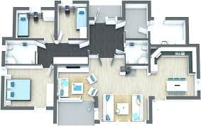 modern open floor plan house designs floor plan of house modern floor plan house design software free