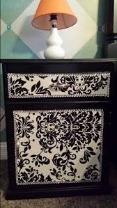 matte black wrapping paper black and white refurbished stand painted matte black deco