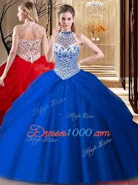 15 quinceanera dresses quality halter top beading and ups 15 quinceanera dress royal