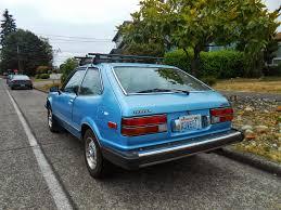 seattle u0027s parked cars 1981 honda accord hatchback