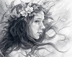 wind blown hair etsy