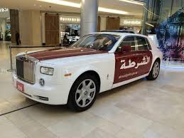 roll royce tuning dhabi police gets a rolls royce phantom police car